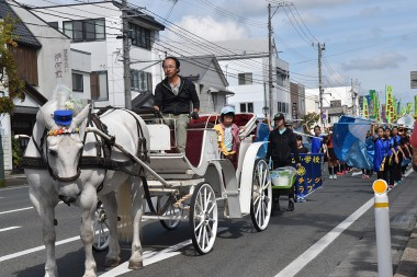 交通安全パレードが開催されました