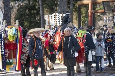 「東京チャグチャグ馬コ」の活動が紹介されました